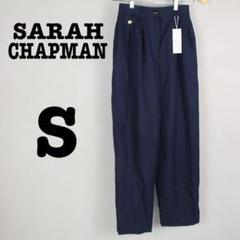 "Thumbnail of ""【SARAH CHAPMAN】新品/紺色テーパードパンツ/キレイめ/7号"""