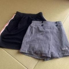 """Thumbnail of """"repipi  SサイズのスカートとLOVE itの130ショートパンツ"""""""