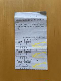 """Thumbnail of """"☆新品☆名古屋市室内スポーツセンタープール 3枚"""""""