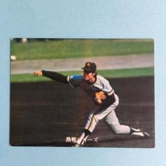 """Thumbnail of """"カルビープロ野球カード1973年版NO350山内新一選手"""""""