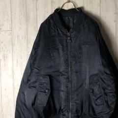 "Thumbnail of ""サウスポール MA-1ジャケット 刺繡ロゴ ブラック L C5"""