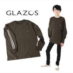 """Thumbnail of """"GLAZOS グラソス 150 トップス 長袖 ロンT チャコール ブラック"""""""