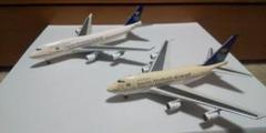 """Thumbnail of """"1/400 B747SP B747-400 サウジアラビア航空 サウディア"""""""