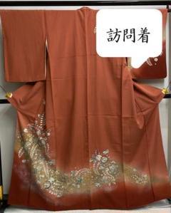 "Thumbnail of ""[辻ヶ花] 京友禅 手描 訪問着 今様色 紫 赤 卒業式 入学式 結婚式 お茶"""