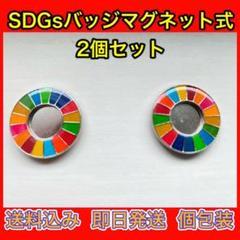 "Thumbnail of ""国連本部 SDGsバッジ 強力マグネット"""