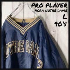 "Thumbnail of ""【NCAA L 90s】プロプレイヤー 両面刺繍 ノートルダム ゲームシャツ"""
