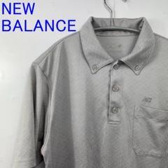 """Thumbnail of """"美品NEW BALANCE ニューバランス ポロシャツ Mグレー ゴルフウェア"""""""