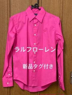 "Thumbnail of ""ラルフローレン❤️新品タグ付き【160/88】綺麗色シャツ"""