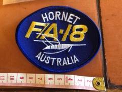 """Thumbnail of """"オーストラリア空軍 F18 HORNET エンブロイド パッチ"""""""