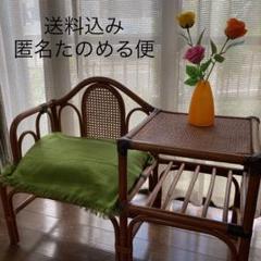 "Thumbnail of ""藤 ラタン家具 椅子 クラッシック家具花台"""
