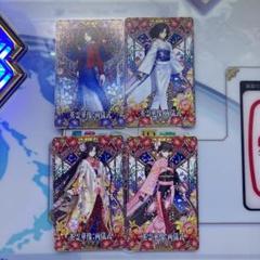 "Thumbnail of ""FGOアーケード 英霊華像  両儀式 第1段階〜第3段階 フェイタル"""