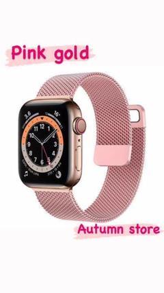 "Thumbnail of ""Apple Watch ミラネーゼ ピンクゴールド 韓国 可愛い"""