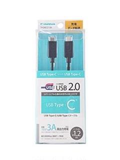 "Thumbnail of ""多摩電子工業 USB2.0 Type-C ケーブル1.2m TH28CC12K"""