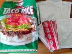 """Thumbnail of """"ホーメル タコライス4食セット タコスミート65g×4袋/ホットソース6g×4袋"""""""