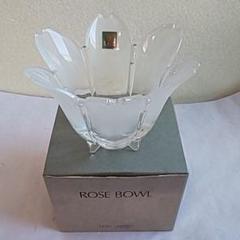 """Thumbnail of """"HOYAクリスタル ROSE BOWL 花瓶"""""""