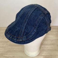 "Thumbnail of ""メンズ ハンチング帽 デニム シンプル インディゴブルーF"""
