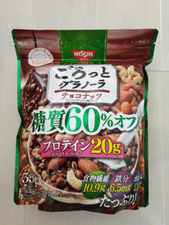 """Thumbnail of """"日清シスコ  ごろっとグラノーラチョコナッツ味  糖質60%オフ"""""""