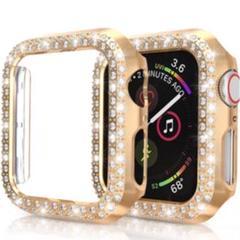 "Thumbnail of ""Apple watch ダイヤモンド カバー ケース ゴールド38㎜"""