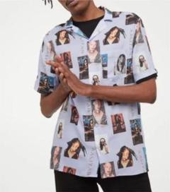 """Thumbnail of """"H&M AALIYAHコラボ リゾートシャツ XL"""""""