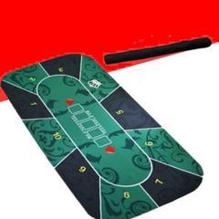 """Thumbnail of """"【新品未使用】ポーカーマット ゲーム テキサスホールデム プレイマット カジノ"""""""