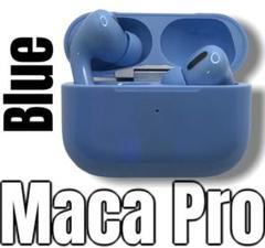 """Thumbnail of """"MaCa Pro ワイヤレスイヤホン Bluetooth5.0 ブルー *"""""""