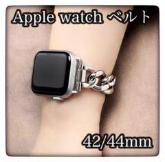 """Thumbnail of """"Applewatch アップルウォッチ チェーンベルト シルバー"""""""