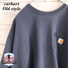 "Thumbnail of ""《希少》カーハート carhart☆Tシャツ XL 刺繍  ブルー"""