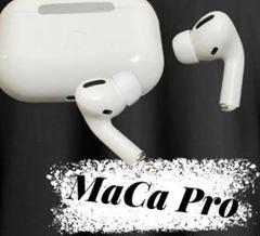 MaCa Pro ホワイト Bluetoothイヤホン 最安 高性能 高品質