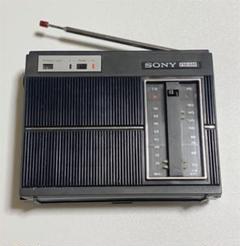 "Thumbnail of ""SONY 昭和レトロ ラジオ TFM-6300  ジャンク品"""