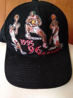 "Thumbnail of ""【限定品】NBA シカゴブルズ 1996年 チャンピオン記念キャップ"""