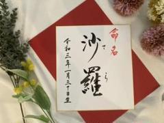 "Thumbnail of ""命名書"""