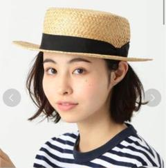 """Thumbnail of """"Cableami × BEAMS BOY ボーター ハット カンカン帽"""""""