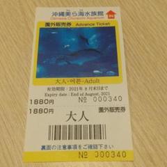 "Thumbnail of ""沖縄美ら海水族館 チケット"""