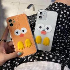 """Thumbnail of """"韓国DUCK  iphone12 ケース  ホワイト"""""""