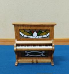"""Thumbnail of """"木製アップライトピアノ オルゴール"""""""
