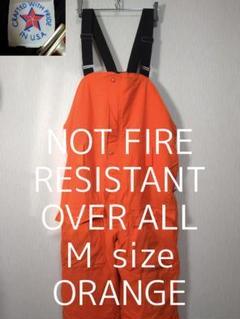 "Thumbnail of ""M NOT FIRE RESISTANT オーバーオール オレンジ"""