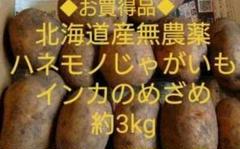 "Thumbnail of ""北海道産無農薬ハネモノじゃがいもインカのめざめ約3kg"""