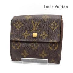 "Thumbnail of ""《一点物》Louis Vuitton モノグラム ポルトモネ 折り財布 茶色"""