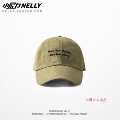 """Thumbnail of """"復古のソフトトップのハンチング帽の男女の韓国版の通り曲がったひさしの野球帽G"""""""