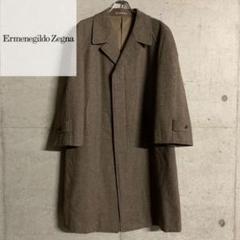 "Thumbnail of ""Ermenegildo Zegna ゼニア ロング チェスター コート 千鳥格子"""