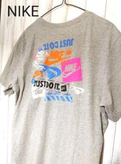 "Thumbnail of ""NIKE Tシャツ スタンプ柄 バックプリント グレー"""