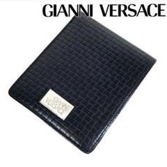 """Thumbnail of """"レザー Gianni Versace 折り財布 イントレチャート"""""""