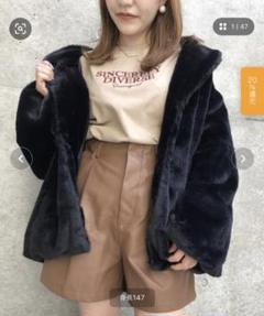 "Thumbnail of ""INGNI ファーオーバーコート"""