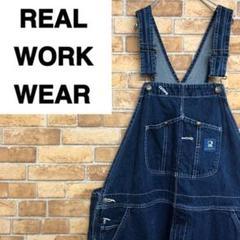 "Thumbnail of ""♡REAL WORK WEAR♡デニムオーバーオール ビッグサイズ ペインター"""