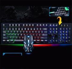 "Thumbnail of ""PS4対応 ゲーミング キーボード マウス セット 防水 LED ライト 発光"""