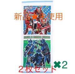 "Thumbnail of ""仮面ライダー フェイスタオル 【2枚セット】新品、未使用"""