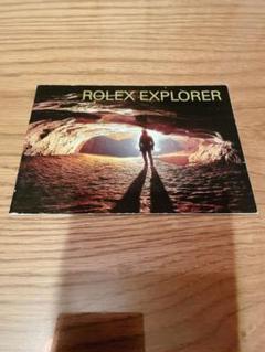 """Thumbnail of """"ロレックス エクスプローラー 冊子 2004年 英語版"""""""