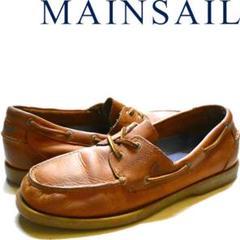 "Thumbnail of ""メインセイルMainSail革靴デッキシューズ古着メンズ514074"""