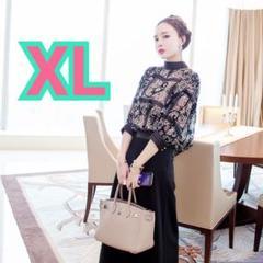"""Thumbnail of """"【新品】3点セット♡セットアップスーツXLワイドパンツスーツドレス結婚式ランチ会"""""""