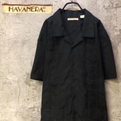"Thumbnail of ""【ビンテージ】HAVANERA オールド 刺繍 キューバシャツ メンズXXL"""